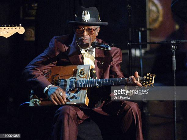 Bo Diddley presenter during 20th Annual Rock and Roll Hall of Fame Induction Ceremony Show at Waldorf Astoria Hotel in New York City New York United...