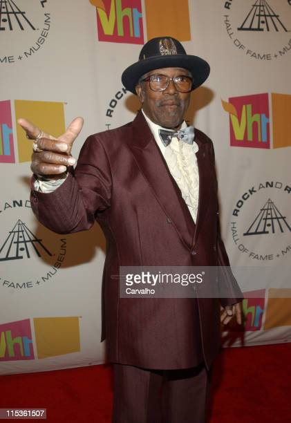 Bo Diddley presenter during 20th Annual Rock and Roll Hall of Fame Induction Ceremony Arrivals at Waldorf Astoria Hotel in New York City New York...