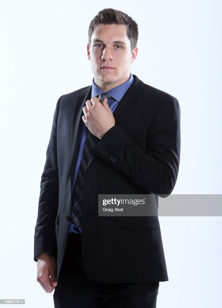 Bo Horvat has his formal portrait taken during the 2013 NHL Combine May 30, 2013 at the Westin Bristol Place Hotel in Toronto, Ontario, Canada.