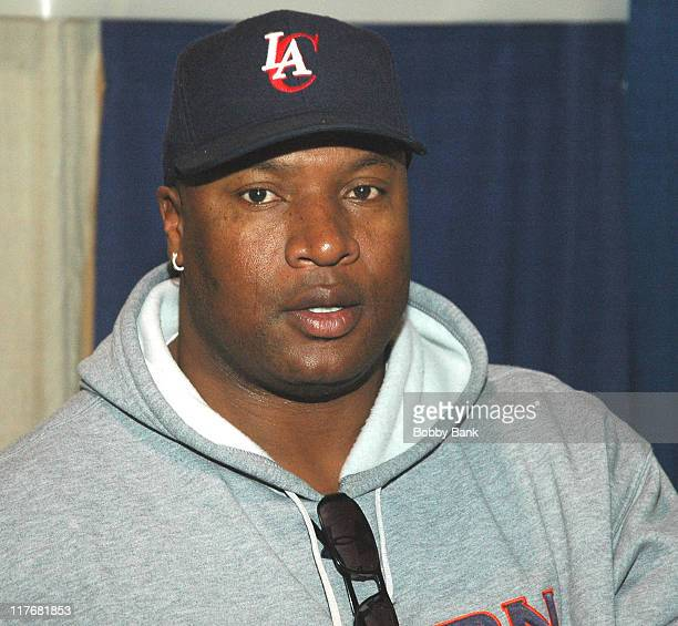 Bo Jackson during New York Sports Collectors Show December 3 2006 at Meadowlands Expo in Secaucus New Jersey United States