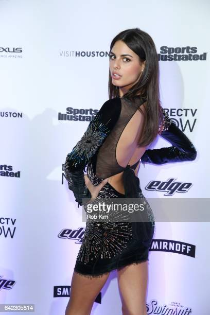 Bo Krsmanovic attends Sports Illustrated Swimsuit 2017 Launch Event at Center415 Event Space on February 16 2017 in New York City
