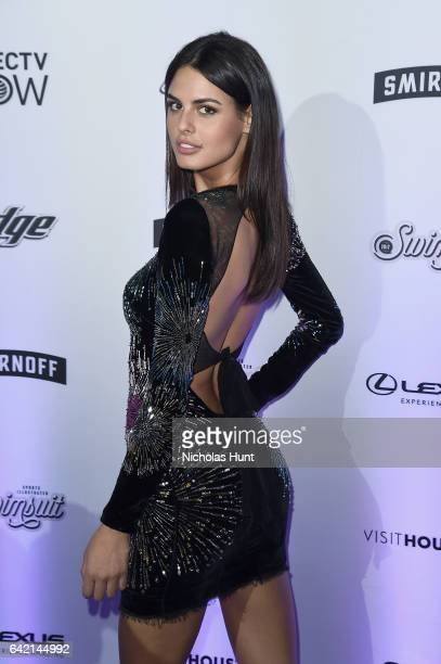 Bo Krsmanovic attends Sports Illustrated Swimsuit 2017 NYC launch event at Center415 Event Space on February 16 2017 in New York City