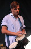 Bo Madsen of Mew performs during the 2009 Pitchfork Music Festival at Union Park on July 19 2009 in Chicago Illinois