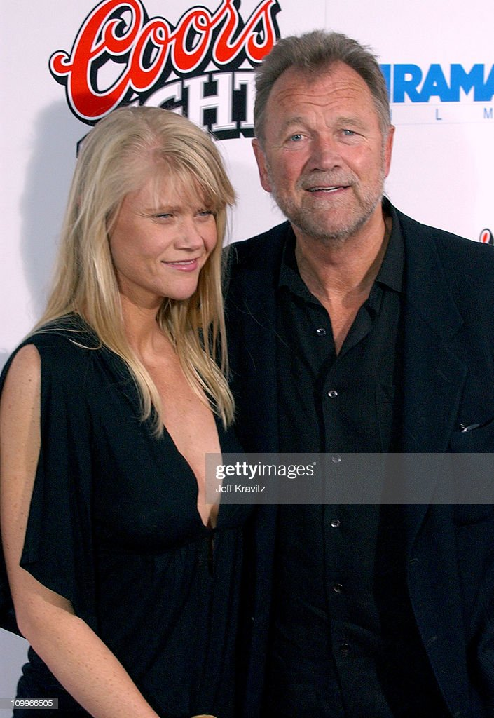 Bo Svenson (right) and guest during Kill Bill: Vol. 2 World Premiere - Red Carpet at Arclight Cinerama Dome in Los Angeles, California, United States.