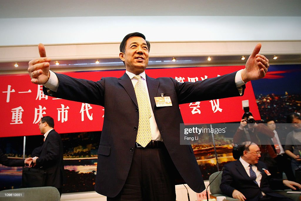 Bo Xilai, Secretary of Chongqing Municipal Committee of the Communist Party of China, attends a meeting during the annual National People's Congress at the Great Hall of the People on March 6, 2011 in Beijing, China. Known as 'liang hui,' or 'two organizations', it consists of meetings of China's legislature, the National People's Congress (NPC), and its advisory auxiliary, the Chinese People's Political Consultative Conference (CPPCC).