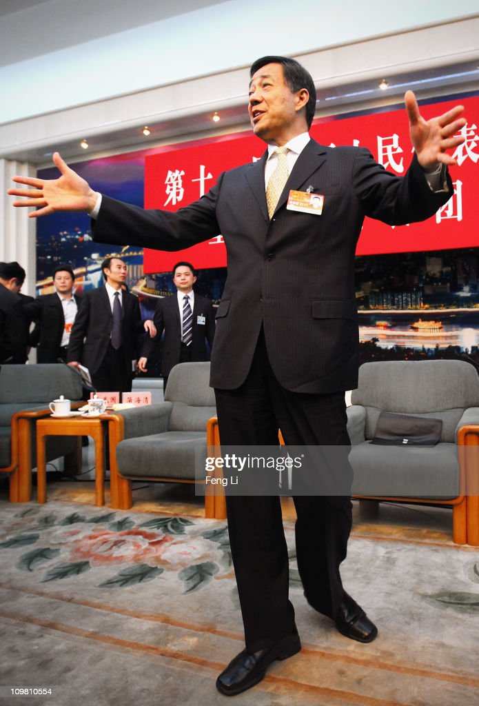<a gi-track='captionPersonalityLinkClicked' href=/galleries/search?phrase=Bo+Xilai&family=editorial&specificpeople=225006 ng-click='$event.stopPropagation()'>Bo Xilai</a>, Secretary of Chongqing Municipal Committee of the Communist Party of China, attends a meeting during the annual National People's Congress at the Great Hall of the People on March 6, 2011 in Beijing, China. Known as 'liang hui,' or 'two organizations', it consists of meetings of China's legislature, the National People's Congress (NPC), and its advisory auxiliary, the Chinese People's Political Consultative Conference (CPPCC).