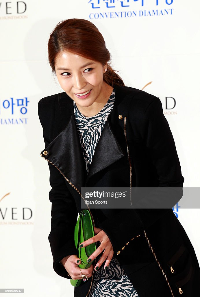 BoA attends Hong Rok-Gi's wedding at Convention diaMant on December 16, 2012 in Seoul, South Korea.