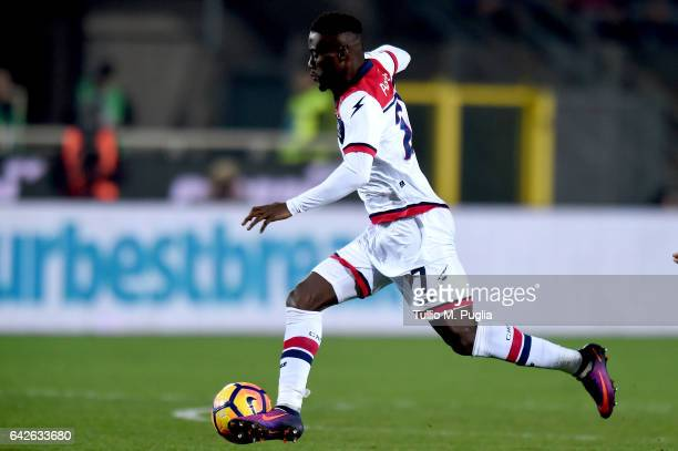 Boadu Acosty of Crotone in action during the Serie A match between Atalanta BC and FC Crotone at Stadio Atleti Azzurri d'Italia on February 18 2017...