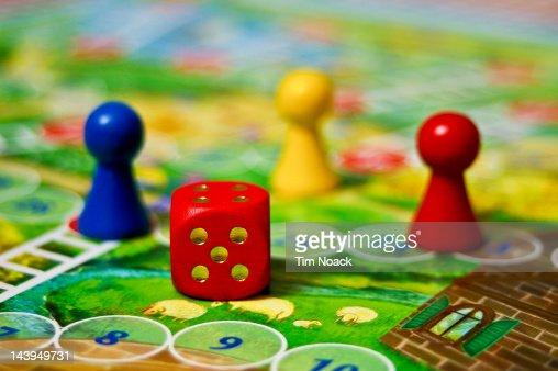 Board game : Stock Photo