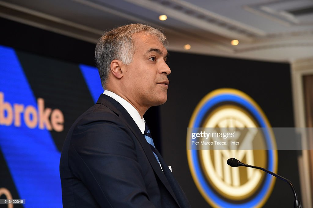 Board Manager of FC Internazionale Michael Bolingbroke talks during FC Internazionale Shareholder's Meeting on June 28, 2016 in Milan, Italy.