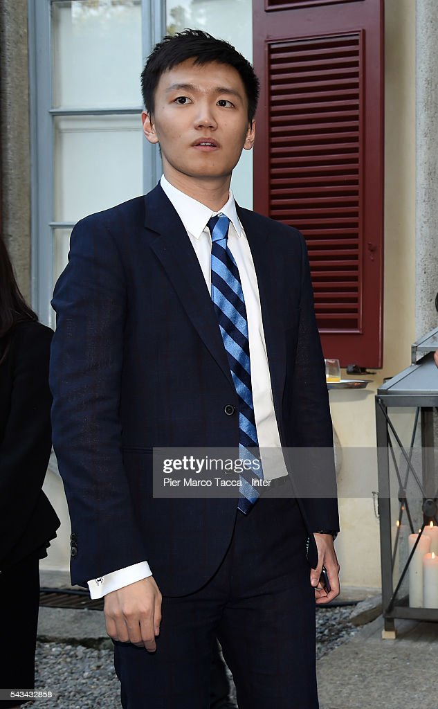 Board Manager of FC Internazionale Steven Zhang attends a dinner after the FC Internazionale Shareholder's Meeting on June 28, 2016 in Milan, Italy.
