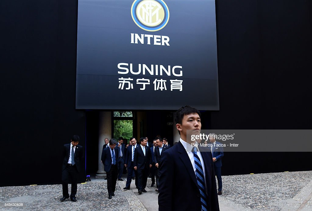 Board Manager of FC Internazionale Steven Zhang attends a gala dinner after the FC Internazionale Shareholder's Meeting on June 28, 2016 in Milan, Italy.