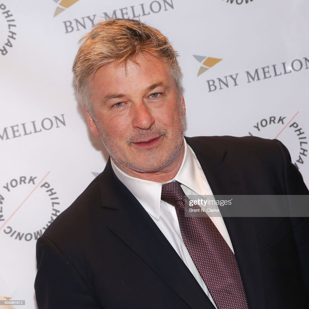 Board member Alec Baldwin attends the New York Philharmonic Spring Gala - A John Williams Celebration held at David Geffen Hall on May 24, 2016 in New York City.