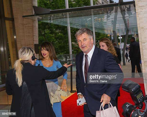 Board member Alec Baldwin attends the New York Philharmonic Spring Gala A John Williams Celebration held at David Geffen Hall on May 24 2016 in New...