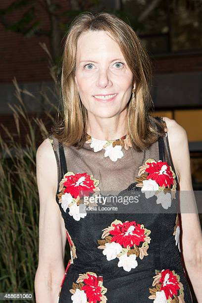 Board Member Catie Marron attend the Anual Fundraising Event at Diller von Furstenberg Sundeck on September 16 2015 in New York City
