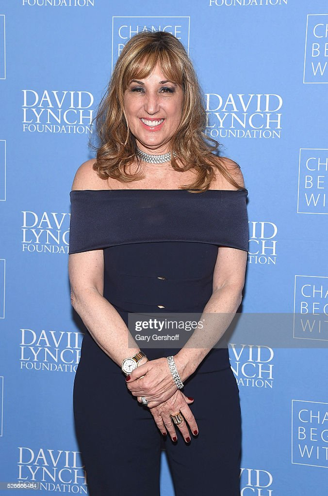 Board Member, David Lynch Foundation, Joanna Plafsky attends 'An Amazing Night of Comedy: A David Lynch Foundation Benefit for Veterans with PTSD' on April 30, 2016 in New York City.