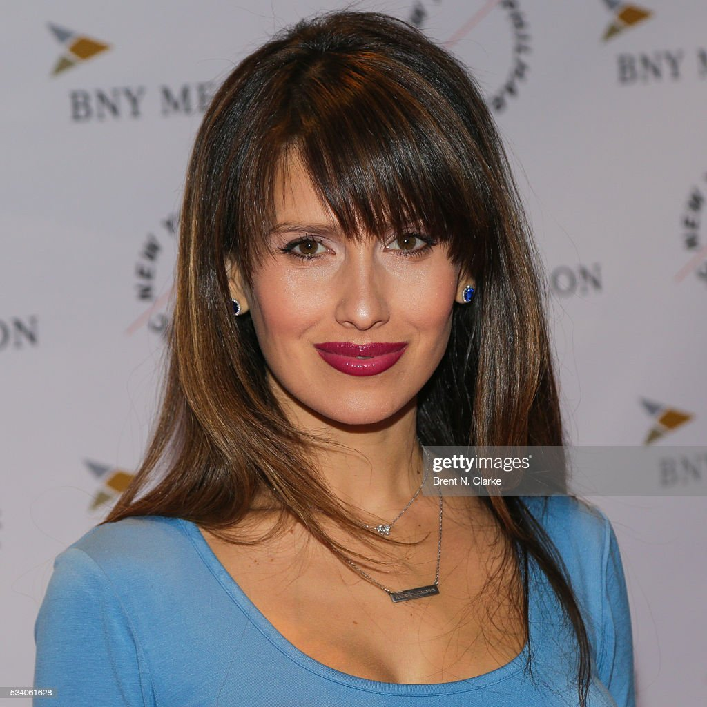 Board member <a gi-track='captionPersonalityLinkClicked' href=/galleries/search?phrase=Hilaria+Baldwin&family=editorial&specificpeople=7856471 ng-click='$event.stopPropagation()'>Hilaria Baldwin</a> attends the New York Philharmonic Spring Gala - A John Williams Celebration held at David Geffen Hall on May 24, 2016 in New York City.