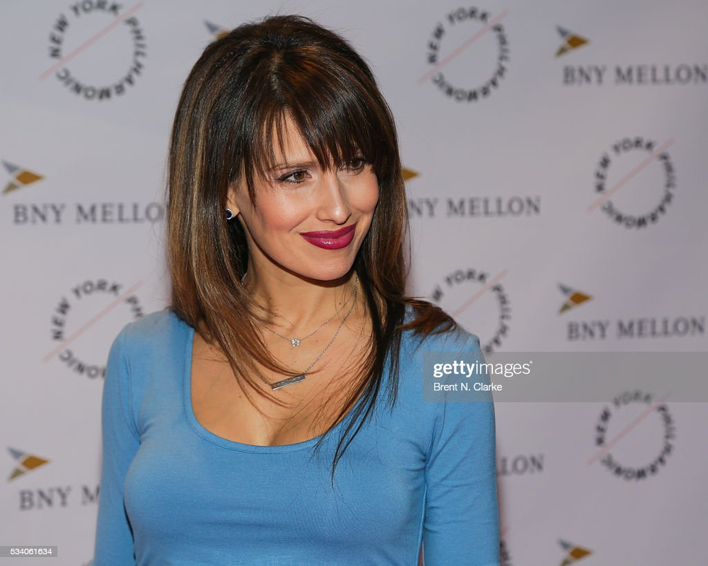 Board member Hilaria Baldwin attends the New York Philharmonic Spring Gala - A John Williams Celebration held at David Geffen Hall on May 24, 2016 in New York City.