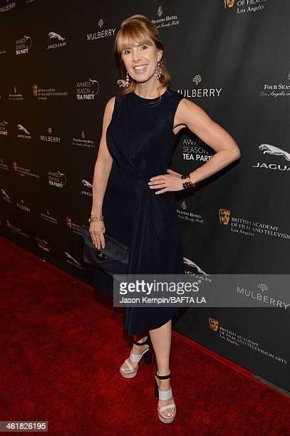 BAFTA board member Julia Verdin attends the BAFTA LA 2014 Awards Season Tea Party at the Four Seasons Hotel Los Angeles at Beverly Hills on January...