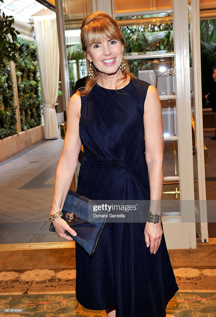 Board Member <a gi-track='captionPersonalityLinkClicked' href=/galleries/search?phrase=Julia+Verdin&family=editorial&specificpeople=240232 ng-click='$event.stopPropagation()'>Julia Verdin</a> attends the BAFTA LA Awards Season Tea Party with Mulberry at the Four Seasons Hotel Los Angeles at Beverly Hills on January 11, 2014 in Beverly Hills, California.