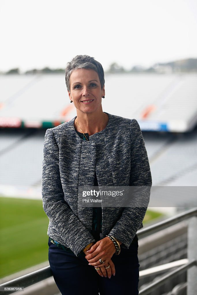 Board Member Liz Dawson during the 2016 NZOC General Assembly at Eden Park Stadium on May 5, 2016 in Auckland, New Zealand.