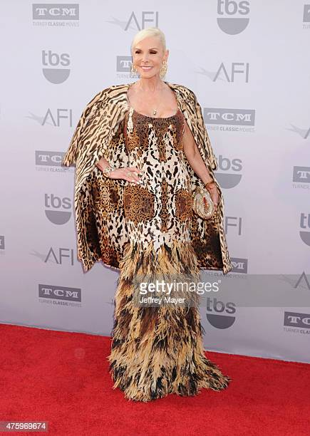 Board member Michelle Herbert arrives at the American Film Institute's 43rd Life Achievement Award Gala Tribute To Steve Martin at Dolby Theatre on...