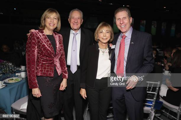 Board member Rory Greiss and guests attend Spirit of the Dream Gala at Intrepid SeaAirSpace Museum on June 6 2017 in New York City