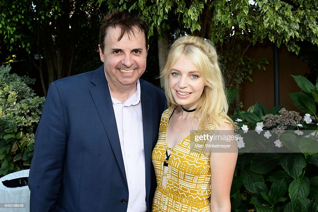 Board Member Sandro Monetti (L) and actress Chloe Farnworth attends the BAFTA LA Garden Party on June 26, 2016 in Los Angeles, California.