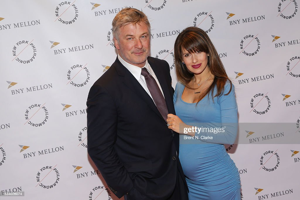 Board members <a gi-track='captionPersonalityLinkClicked' href=/galleries/search?phrase=Alec+Baldwin&family=editorial&specificpeople=202864 ng-click='$event.stopPropagation()'>Alec Baldwin</a> (L) and <a gi-track='captionPersonalityLinkClicked' href=/galleries/search?phrase=Hilaria+Baldwin&family=editorial&specificpeople=7856471 ng-click='$event.stopPropagation()'>Hilaria Baldwin</a> attend the New York Philharmonic Spring Gala - A John Williams Celebration held at David Geffen Hall on May 24, 2016 in New York City.