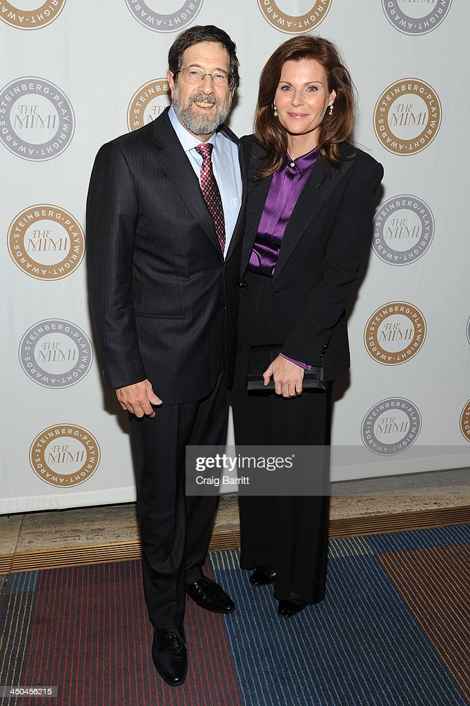 Board of Director James Steinberg and Lori Watson attend The 2013 Steinberg Playwright 'Mimi' Awards presented by The Harold and Mimi Steinberg Charitable Trust at Lincoln Center Theater on November 18, 2013 in New York City.