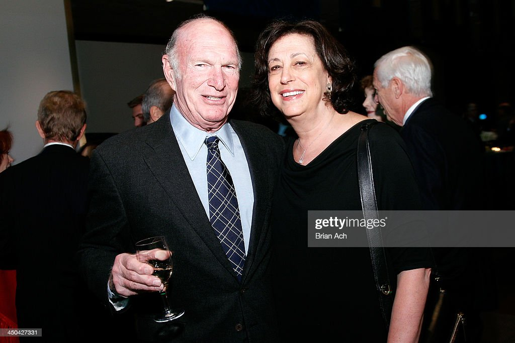 Board of Director Seth M. Weingarten and Artistic Director Lynne Meadow attend The 2013 Steinberg Playwright 'Mimi' Awards presented by The Harold and Mimi Steinberg Charitable Trust at Lincoln Center Theater on November 18, 2013 in New York City.