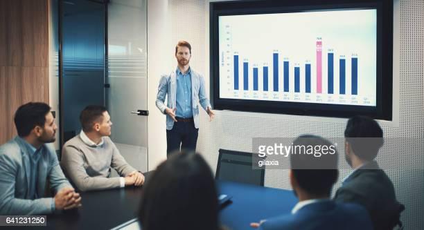 Board room meeting.