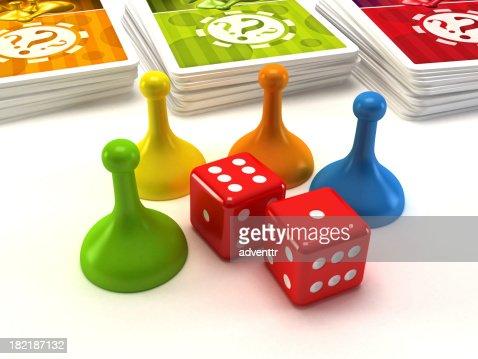 Boardgame piezas