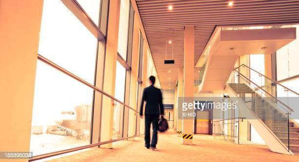 boarding Flugzeug