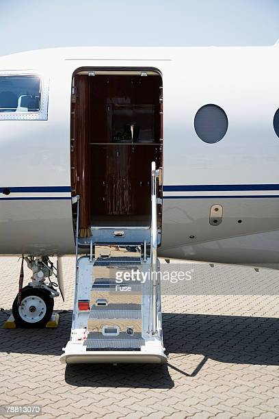 Boarding Entrance of Private Jet