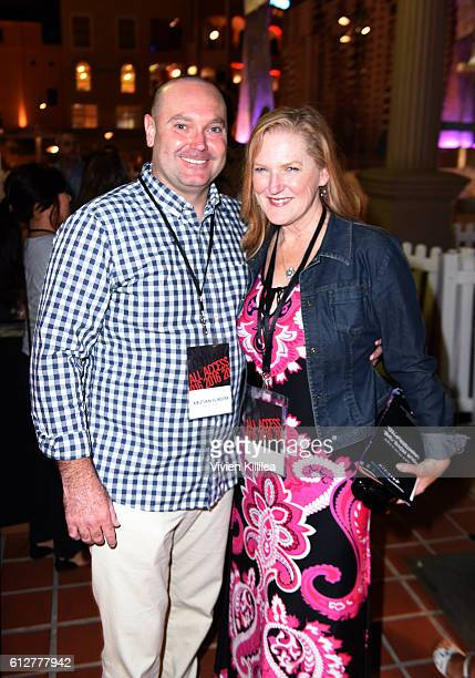 Boardmember at the San Diego International Film Festival Kristian Forster and VP and cofounder of the San Diego International Film Festival Patti...