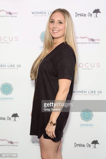 Boardmember Caitlyn Harris attends the Premiere Of Pure Flix Entertainment's 'Women Like Us' at Regal 14 at LA Live Downtown on March 25 2017 in Los...