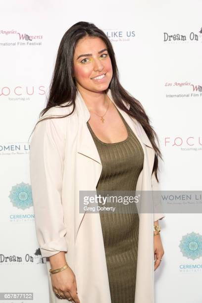 Boardmember Sareen Charkoudian attends the Premiere Of Pure Flix Entertainment's 'Women Like Us' at Regal 14 at LA Live Downtown on March 25 2017 in...