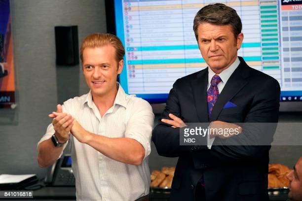 NEWS 'Boardroom Bitch' Episode 201 Pictured Adam Campbell as Greg John Michael Higgins as Chuck