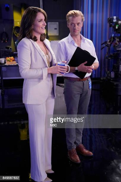 NEWS 'Boardroom Bitch' Episode 201 Pictured Tina Fey as Diana Adam Campbell as Greg