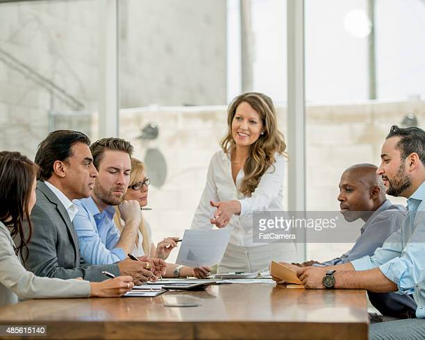 Boardroom Diskussion