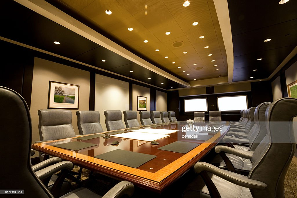 Boardroom : Stock Photo