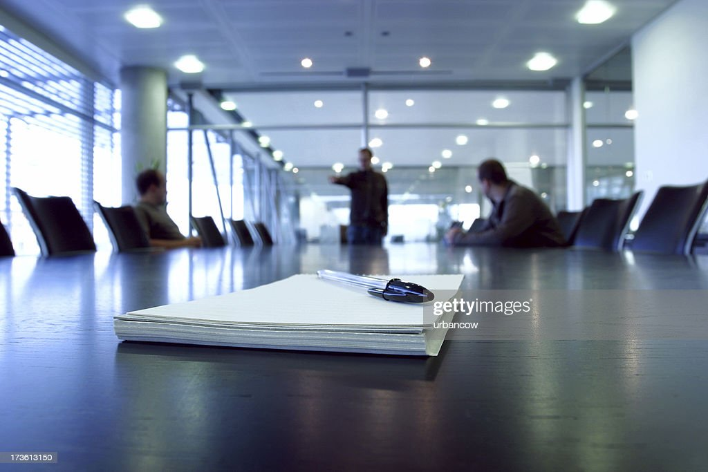 Boardroom point : Stock Photo