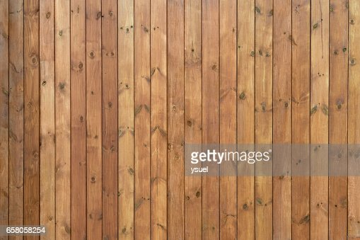 boards painted brown long : Stock Photo