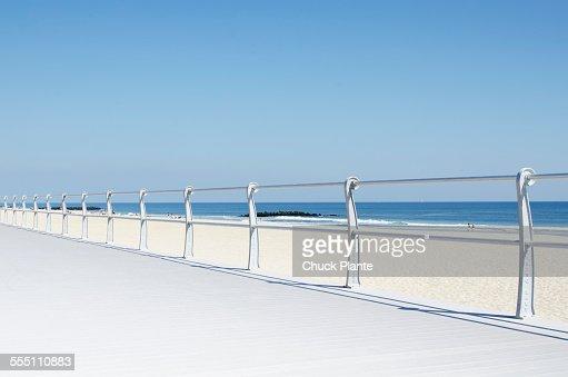 Boardwalk at beach, Spring Lake