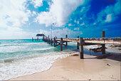 Boardwalk by the sea