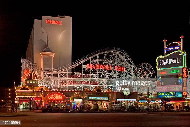 Boardwalk Casino And Roller Coaster Las Vegas
