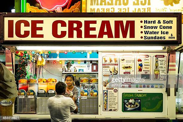 Boardwalk ice cream stand