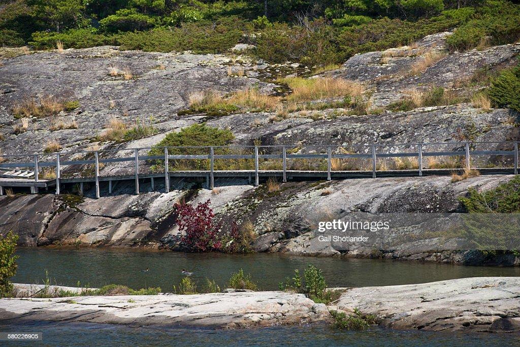 Boardwalk on the Rocks
