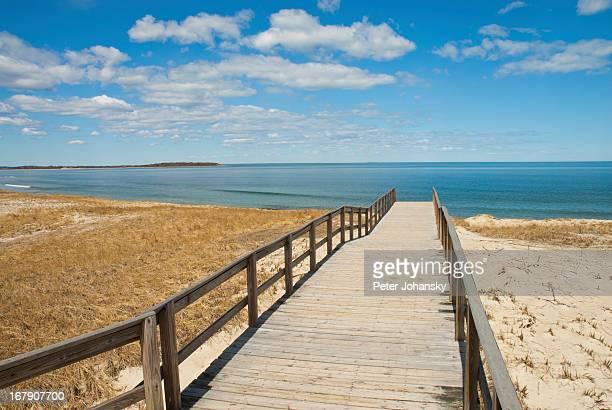 Boardwalk To Crain Beach